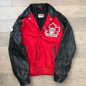 Jackets & Blazers - Vintage Canadian Saanich Nation Bomber Jacket